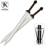 BudK-Gladiator-Warrior-Twin-Sword-Set-and-Sheath-0