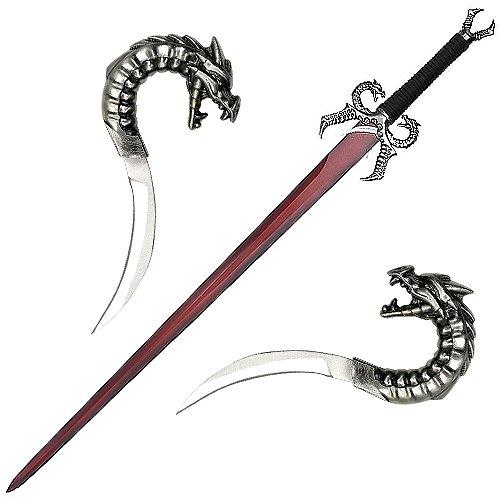 Dragons Breath Fire Medieval Fantasy Sword Plaq New