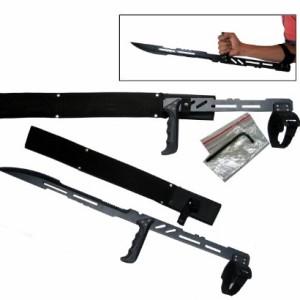 275-Large-Blood-Rayne-Ninja-Forearm-Vampire-Zombie-Machete-Sword-Blade-Knife-0